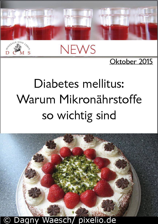 Diabetes und Mikronährstoffe